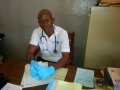 Dr Kebbie at Pujehun Hospital 2